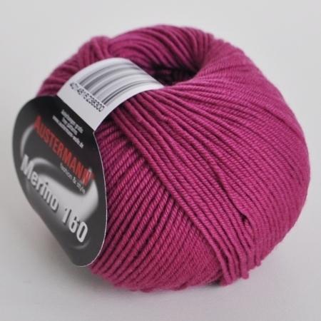 Пряжа для вязания и рукоделия Merino 160 (Austermann) цвет 241, 160