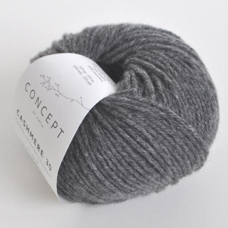 Пряжа для вязания и рукоделия Cashmere 30 (Katia) цвет 204, 94 м