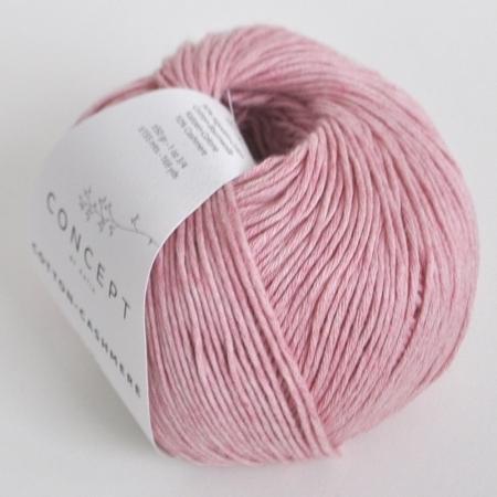 Пряжа для вязания и рукоделия Cotton-Cashmere (Katia) цвет 50, 155 м