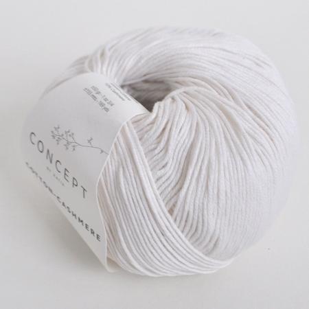 Пряжа для вязания и рукоделия Cotton-Cashmere (Katia) цвет 52, 155 м