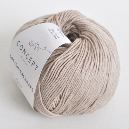 Пряжа для вязания и рукоделия Cotton-Cashmere (Katia) цвет 54, 155 м