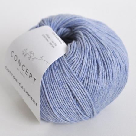 Пряжа для вязания и рукоделия Cotton-Cashmere (Katia) цвет 58, 155 м