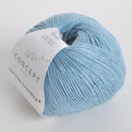 Пряжа для вязания и рукоделия Cotton-Cashmere (Katia) цвет 57, 155 м