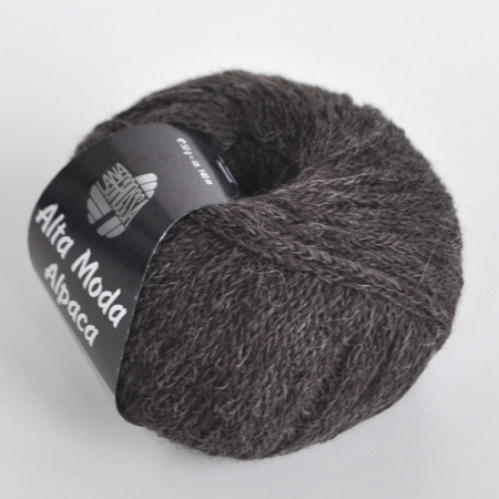 Пряжа для вязания и рукоделия Alta Moda Alpaca (Lana Grossa) цвет 10, 140 м