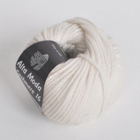 Пряжа для вязания и рукоделия Alta Moda Cashmere 16 (Lana Grossa) цвет 16, 110 м