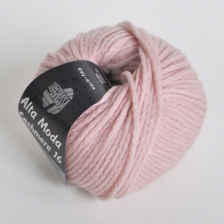 Пряжа для вязания и рукоделия Alta Moda Cashmere 16 (Lana Grossa) цвет 17, 110 м