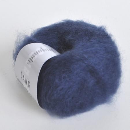 Пряжа для вязания и рукоделия Mohair Luxe (Lang Yarns) цвет 0010, 175 м