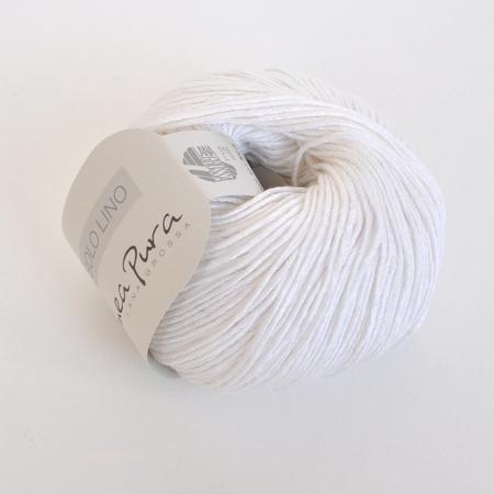 Пряжа Lana Grossa Solo Lino, цвет 01, 120 м