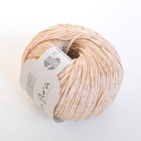 Пряжа для вязания и рукоделия Solo Lino Melange (Lana Grossa) цвет 104, 105 м