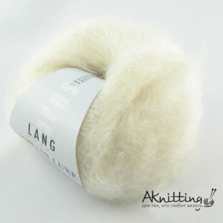 Пряжа для вязания и рукоделия Mohair Luxe (Lang Yarns) цвет 0094, 175 м
