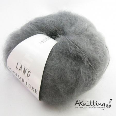 Пряжа для вязания и рукоделия Mohair Luxe (Lang Yarns) цвет 0070, 175 м