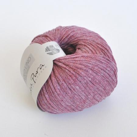 Пряжа для вязания и рукоделия Solo Lino Melange (Lana Grossa) цвет 110, 105 м