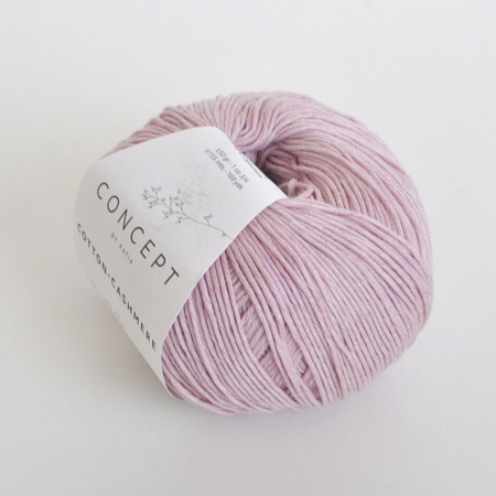 Пряжа для вязания и рукоделия Cotton-Cashmere (Katia) цвет 64, 155 м