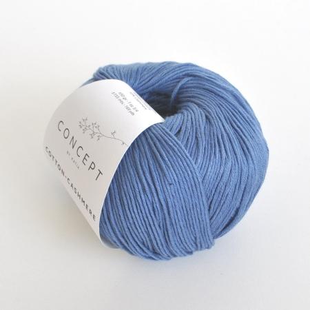 Пряжа для вязания и рукоделия Cotton-Cashmere (Katia) цвет 65, 155 м