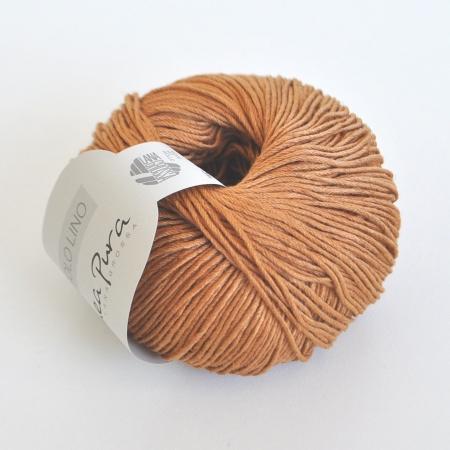 Пряжа для вязания и рукоделия Solo Lino (Lana Grossa) цвет 10, 120 м