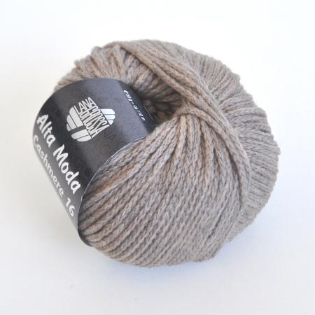Пряжа для вязания и рукоделия Alta Moda Cashmere 16 (Lana Grossa) цвет 03, 110 м