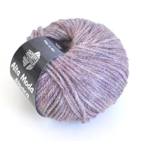 Пряжа для вязания и рукоделия Alta Moda Alpaca (Lana Grossa) цвет 44, 140 м