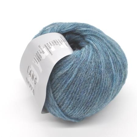 Пряжа для вязания и рукоделия Nova (Lang Yarns) цвет 0078, 180 м