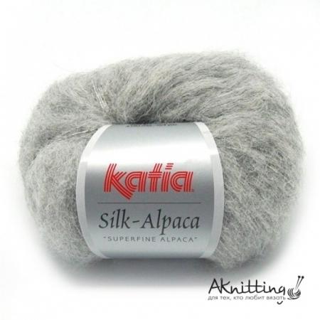 Пряжа для вязания и рукоделия Silk Alpaca (Katia) цвет 67, 150 м