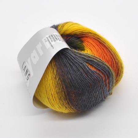 Пряжа для вязания и рукоделия Mille Colori Baby (Lang Yarns) цвет 0014, 190 м