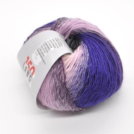 Пряжа для вязания и рукоделия Mille Colori Baby (Lang Yarns) цвет 0066, 190 м