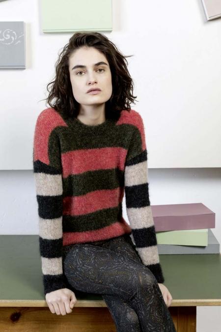 Пуловер из пряжи Lang Yarns Passione