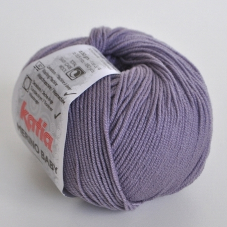 Пряжа для вязания и рукоделия Merino Baby (Katia) цвет 65, 165 м