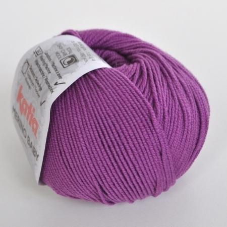 Пряжа для вязания и рукоделия Merino Baby (Katia) цвет 47, 165 м