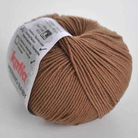 Пряжа для вязания и рукоделия Merino Baby (Katia) цвет 63, 165 м