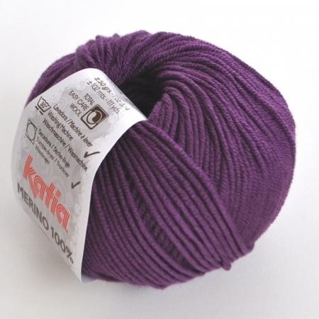 Пряжа для вязания и рукоделия Merino 100% (Katia) цвет 43, 102 м