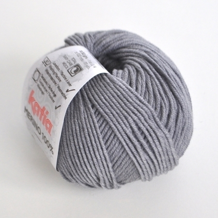 Пряжа для вязания и рукоделия Merino 100% (Katia) цвет 504, 102 м