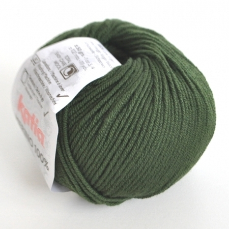 Пряжа для вязания и рукоделия Merino 100% (Katia) цвет 23, 102 м