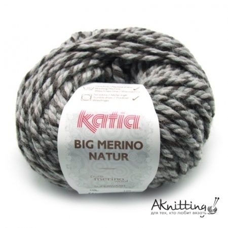 Katia Пряжа Big Merino Natur, цвет 603, 80 м