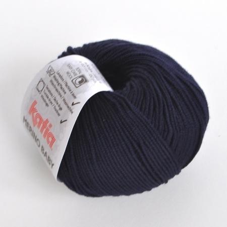Пряжа для вязания и рукоделия Merino Baby (Katia) цвет 5, 165 м