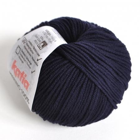 Пряжа для вязания и рукоделия Merino 100% (Katia) цвет 5, 102 м