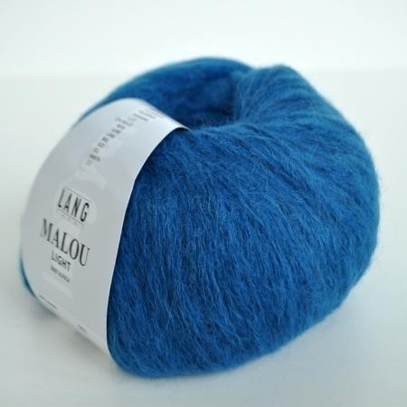 Пряжа для вязания и рукоделия Malou Light (Lang Yarns) цвет 0006, 190 м