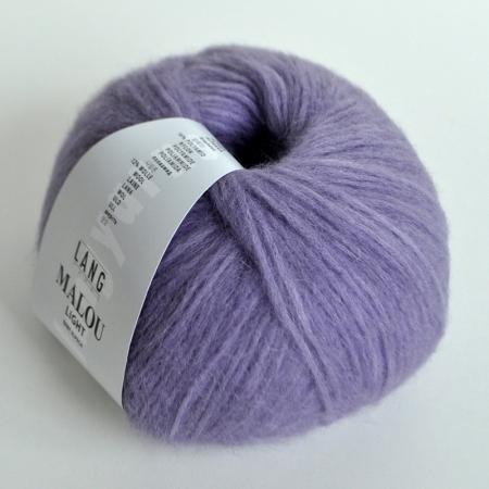 Пряжа для вязания и рукоделия Malou Light (Lang Yarns) цвет 0007, 190 м