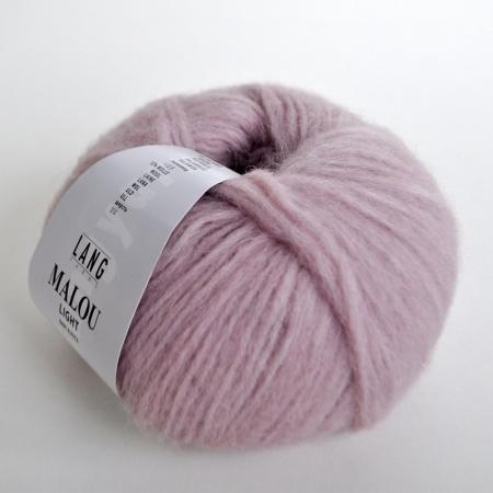 Пряжа для вязания и рукоделия Malou Light (Lang Yarns) цвет 0009, 190 м