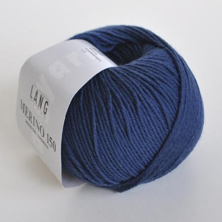 Пряжа для вязания и рукоделия Merino 150 (Lang Yarns) цвет 0034, 150 м