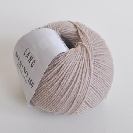 Пряжа для вязания и рукоделия Merino 150 (Lang Yarns) цвет 0096, 150 м