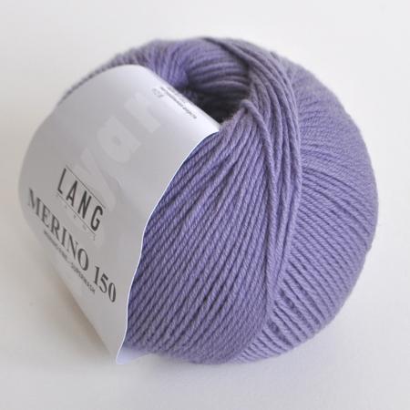 Lang Yarns Пряжа Merino 150, цвет 0207, 150 м