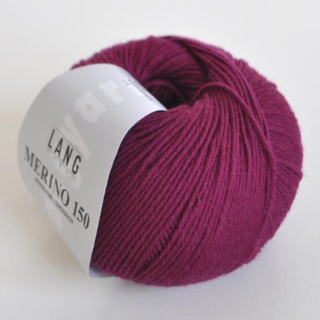 Пряжа для вязания и рукоделия Merino 150 (Lang Yarns) цвет 0166, 150 м