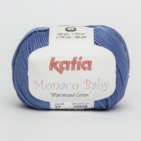 Пряжа для вязания и рукоделия Monaco Baby (Katia) цвет 27, 170 м