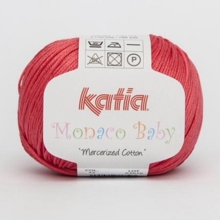 Пряжа для вязания и рукоделия Monaco Baby (Katia) цвет 32, 170 м