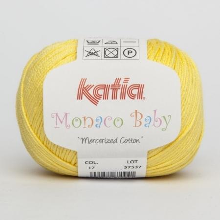 Пряжа для вязания и рукоделия Monaco Baby (Katia) цвет 17, 170 м