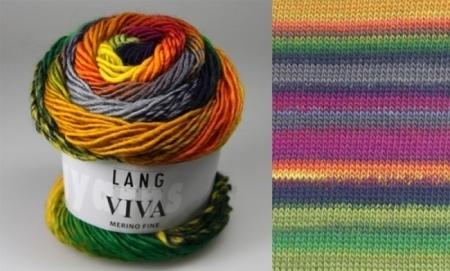 Lang Yarns Пряжа Viva, цвет 0053, 105 м