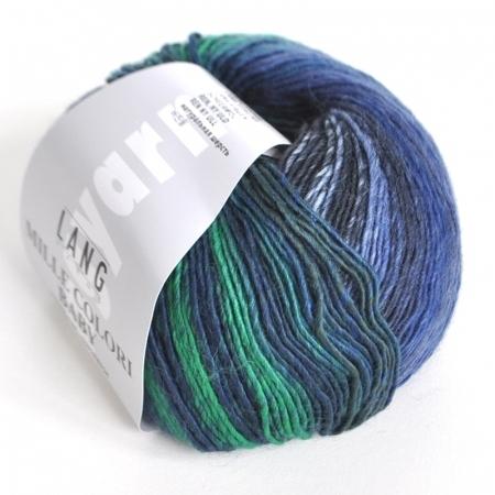 Пряжа для вязания и рукоделия Mille Colori Baby (Lang Yarns) цвет 0033, 190 м