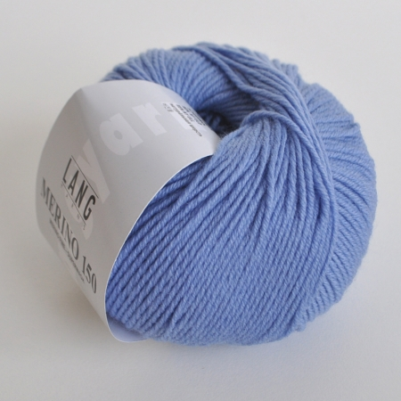 Пряжа для вязания и рукоделия Merino 150 (Lang Yarns) цвет 0033, 150 м