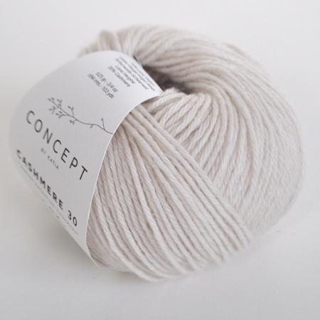 Пряжа для вязания и рукоделия Cashmere 30 (Katia) цвет 200, 94 м