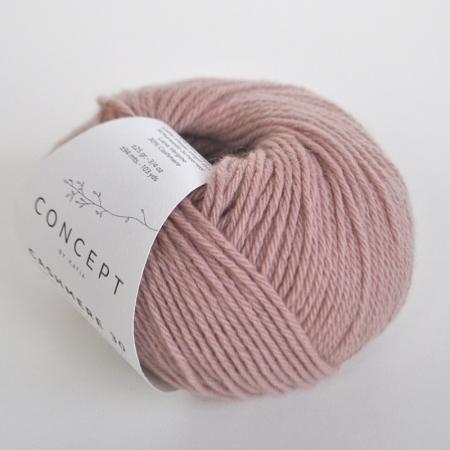 Пряжа для вязания и рукоделия Cashmere 30 (Katia) цвет 205, 94 м